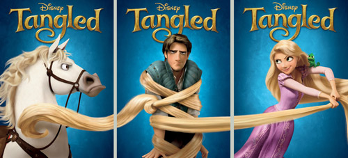 Three Tangled Posters